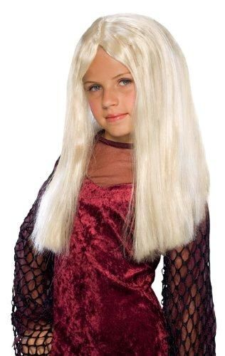 Rubies Witch Wig Black One Size