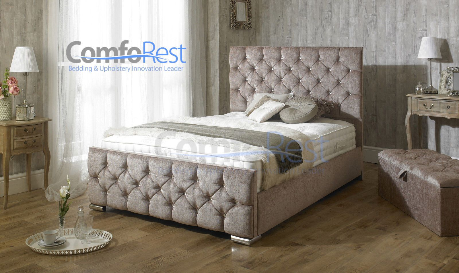 Ebay king size divan beds divan bed ottoman bed choose for King size divan bed without mattress