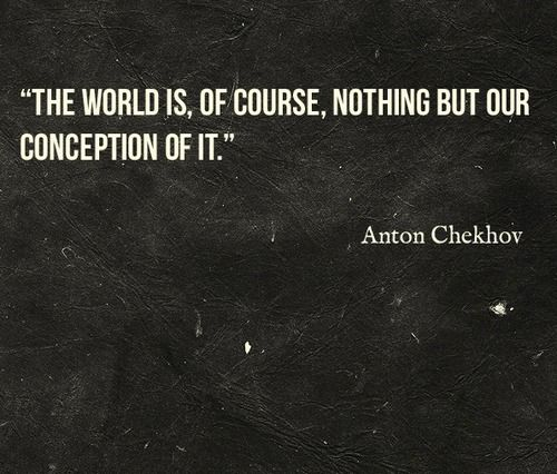 "Quotes About People Who Notice: ""The World Is, Of Course, Nothing But Our Conception Of It"