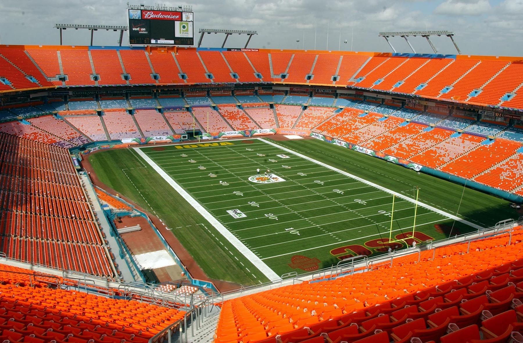 The Orange Bowl Estadios