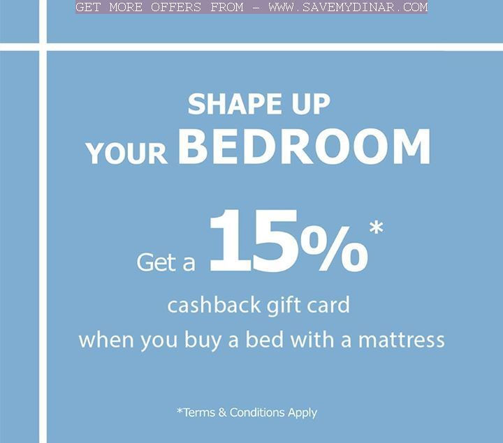 Views Ikea Kuwait Get A 15 Cashback Gift Card When You Buy A Bed