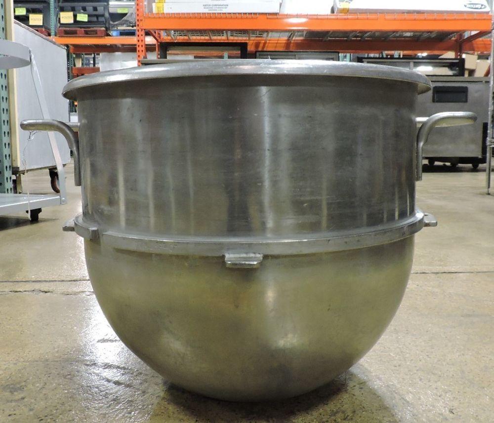 Used Hobart 40 Qt Commercial Stainless Steel Mixer Bowl Used Restaurant Equipment Restaurant Equipment Stainless