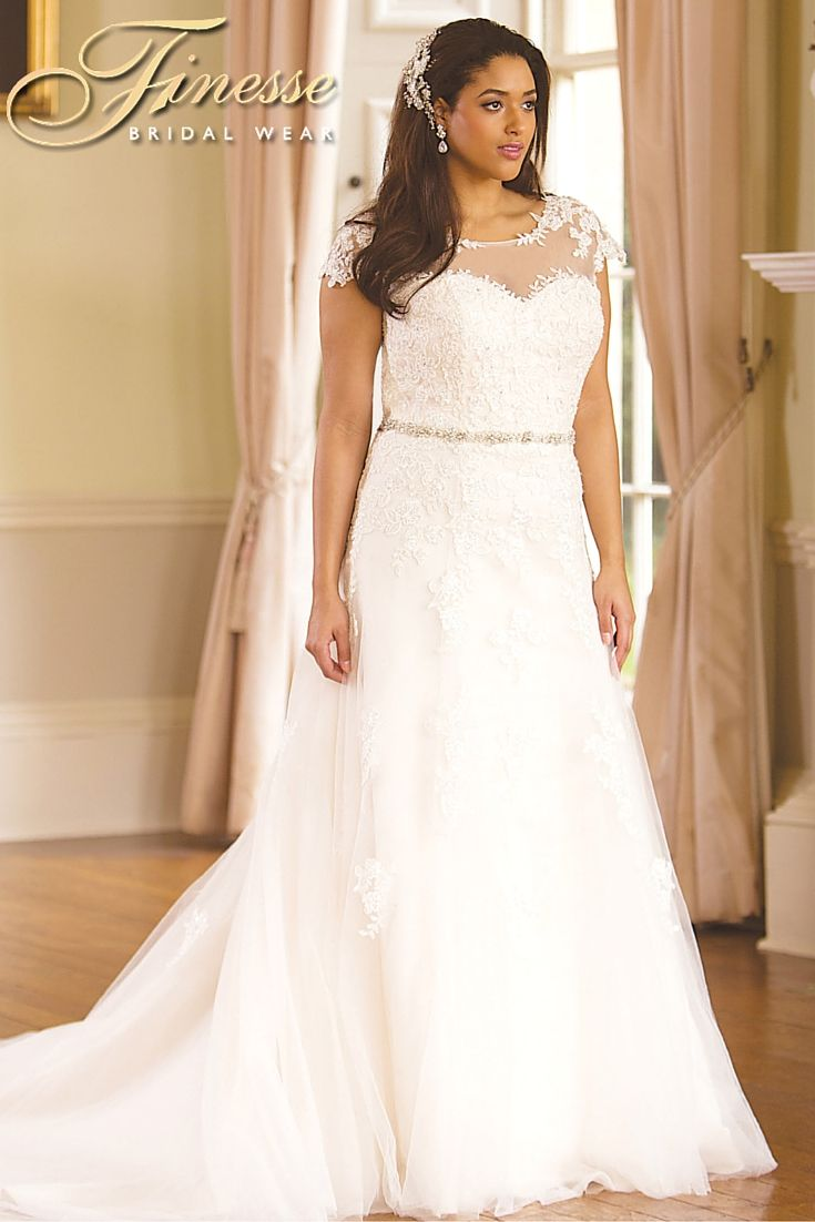 Beautiful Bridal Gown for the Fuller Figure at Finesse Bridal Wear ...