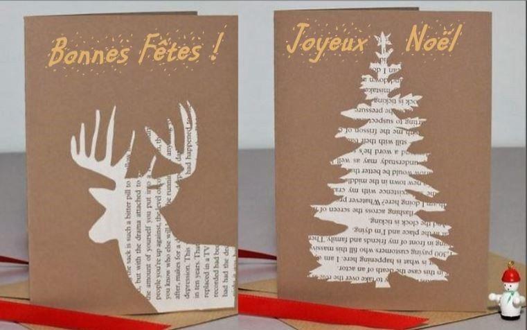 Modeles De Cartes De Voeux A Faire Soi Meme Cartes De Noel A