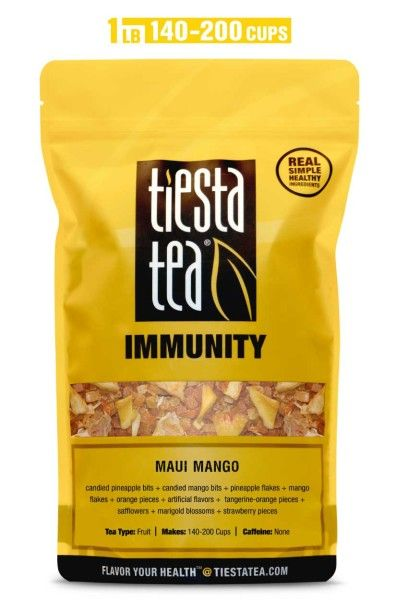 Tiesta Tea Maui Mango Bulk Bag Giant Bag At Costco Great Price