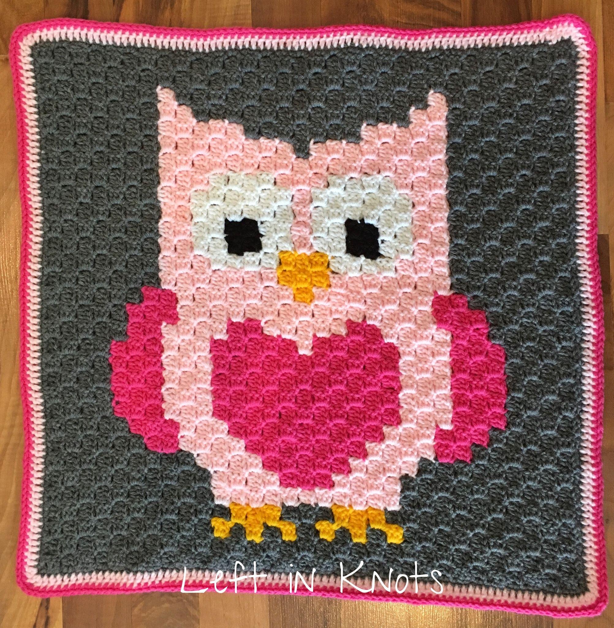 Owls, Foxes and Coons-Oh My! | Pinterest | Decken, Gehäkelte decken ...
