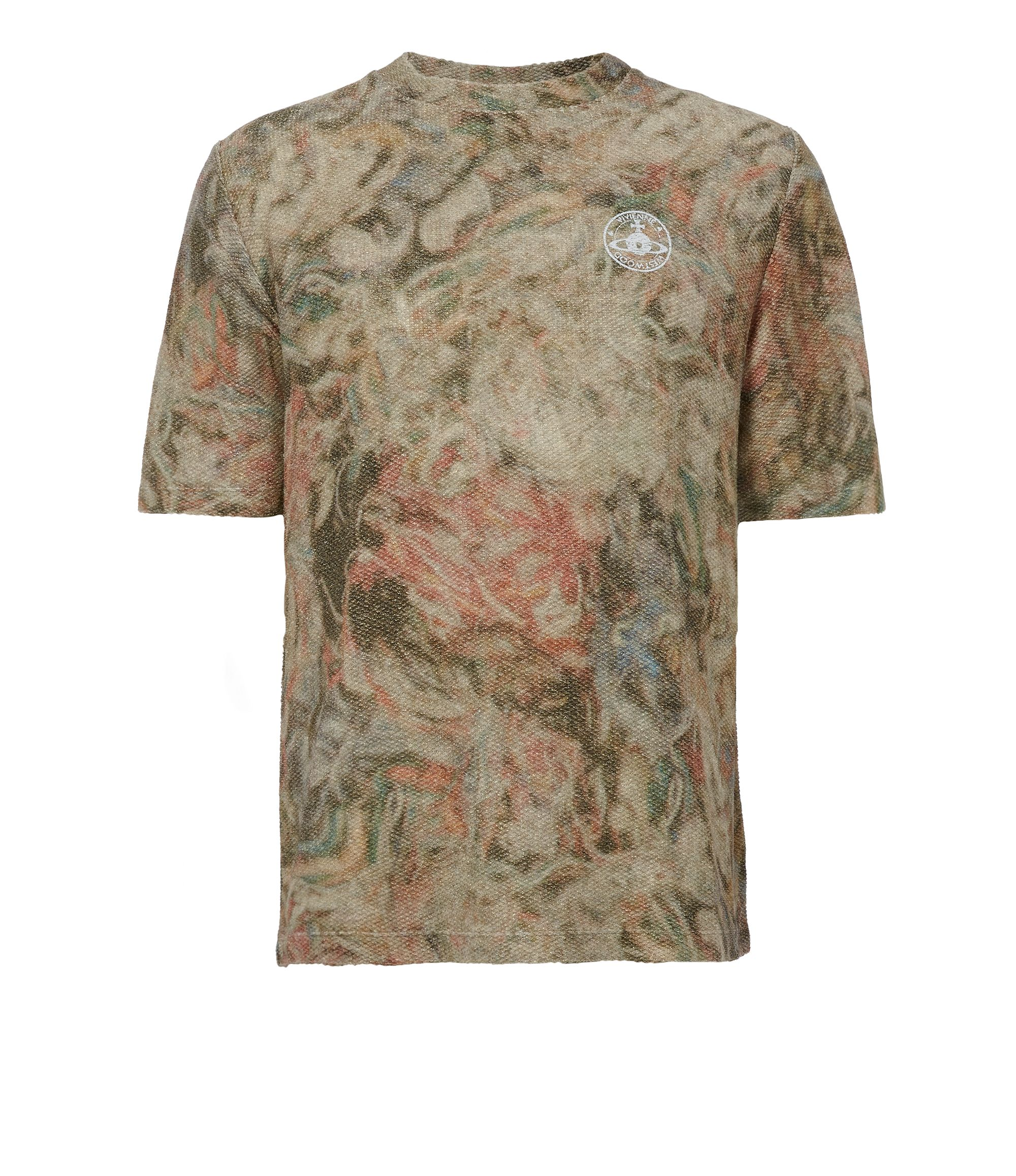 VIVIENNE WESTWOOD Military Mess T-Shirt Beige. #viviennewestwood #cloth #