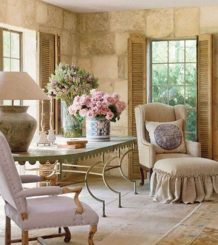 french country home that cozy corner pinterest englische landh user einrichten und wohnen. Black Bedroom Furniture Sets. Home Design Ideas