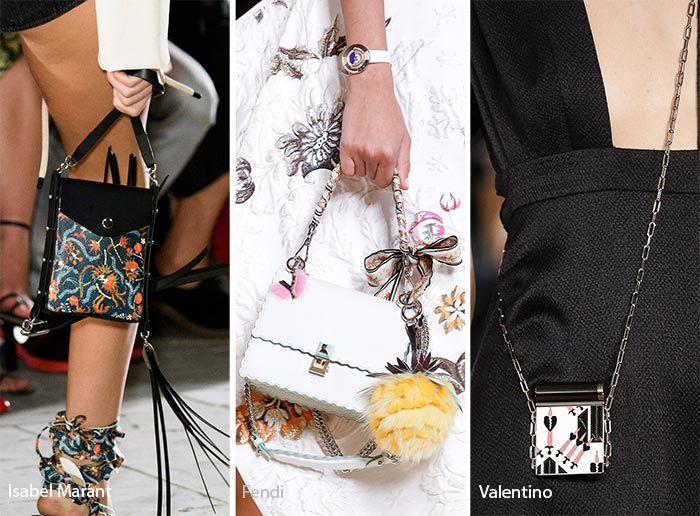Spring/ Summer 2017 Handbag Trends: Tiny Bags/ Purses