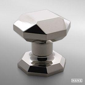 No 1013 faceted octagonal knob (door or cabinet) | fixtures ...
