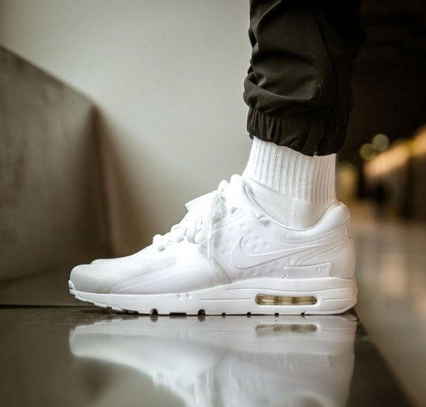 "197ac175cbd5 ... Air Max Zero ""All White"" - EU Kicks Sneaker Magazine Nike ..."