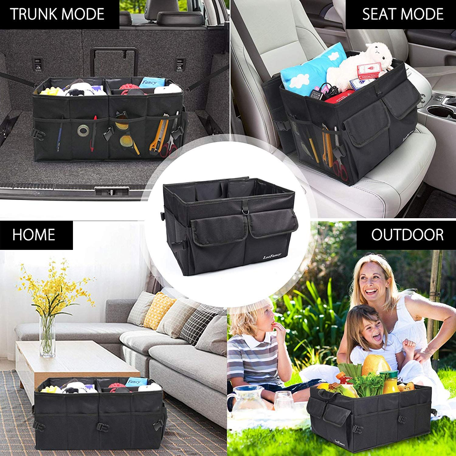 Every family needs a car trunk for going out check out