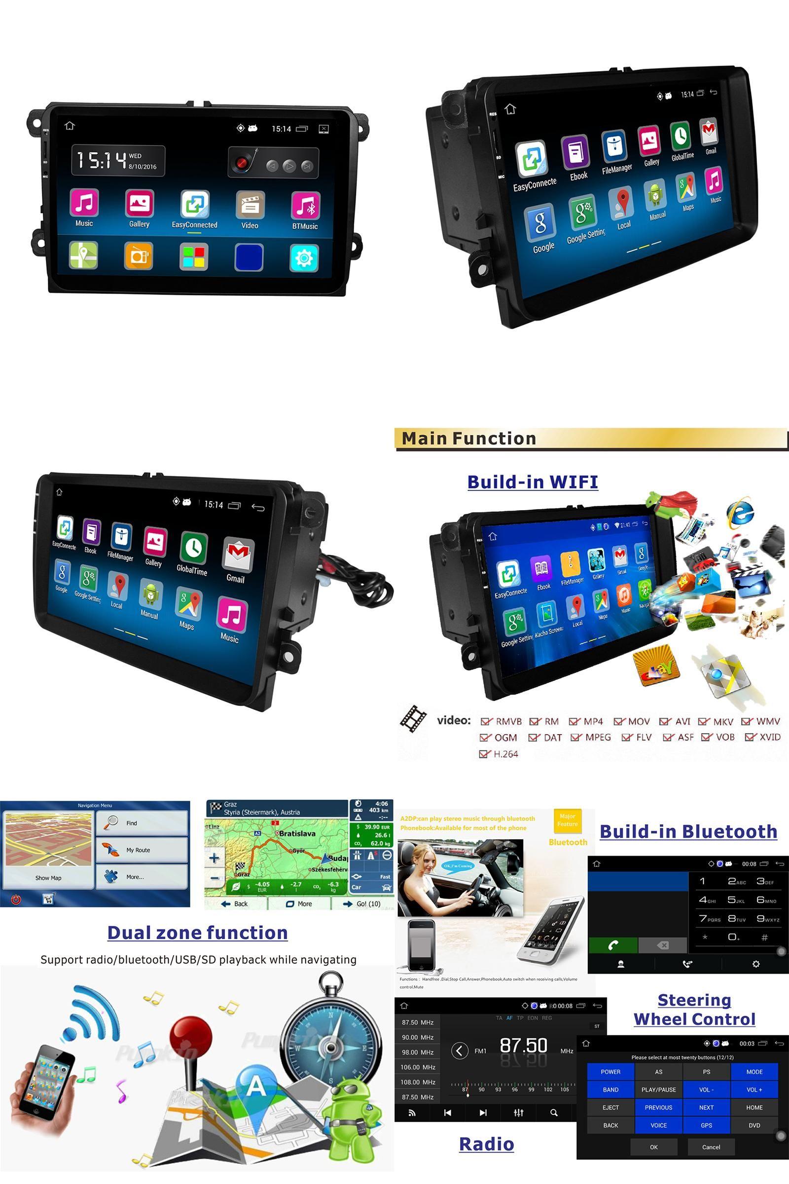 Mk5 mk6 golf gti 2016 car golf mk5 radio golf mk5 mk6 car stereo dvd -  Visit To Buy Rm Vwty91 Android 5 1 2din Car Radio Stereo Player Gps