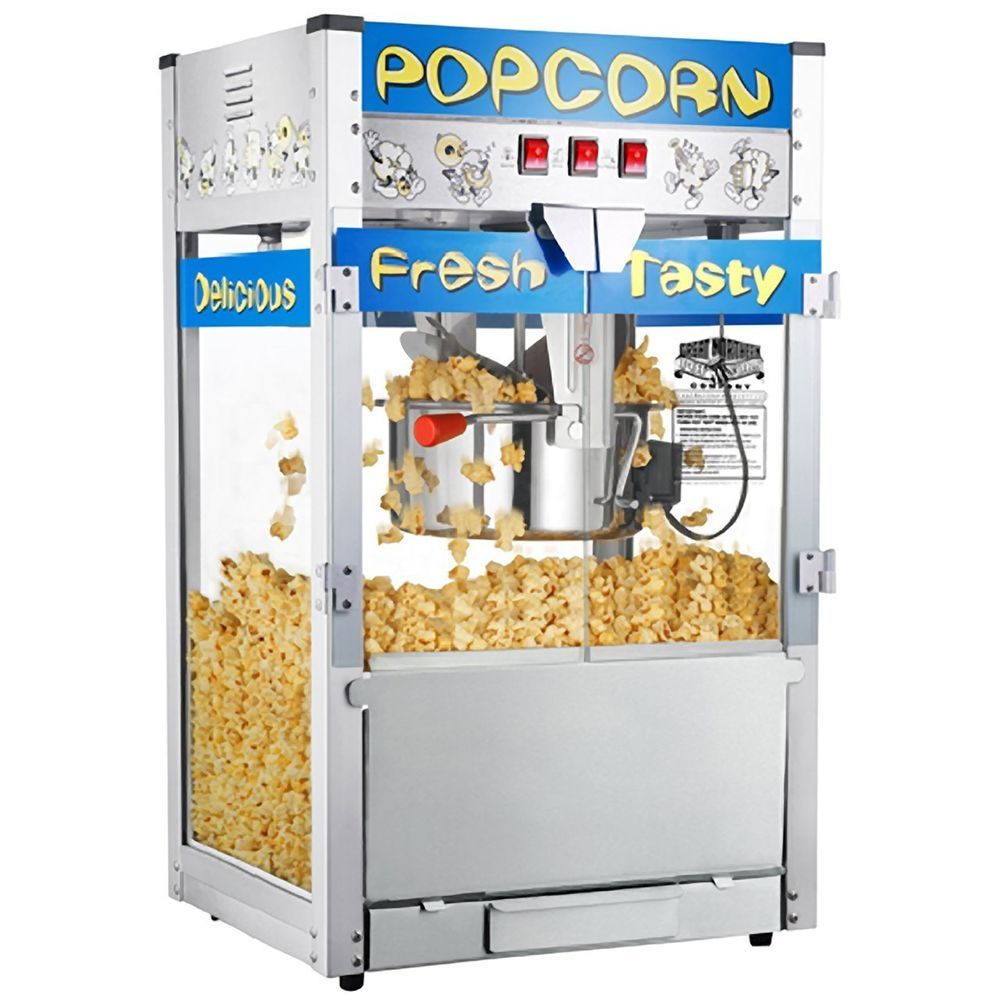 6208 Great Northern TopStar Commercial Quality Bar Style Popcorn Popper Machine 12oz