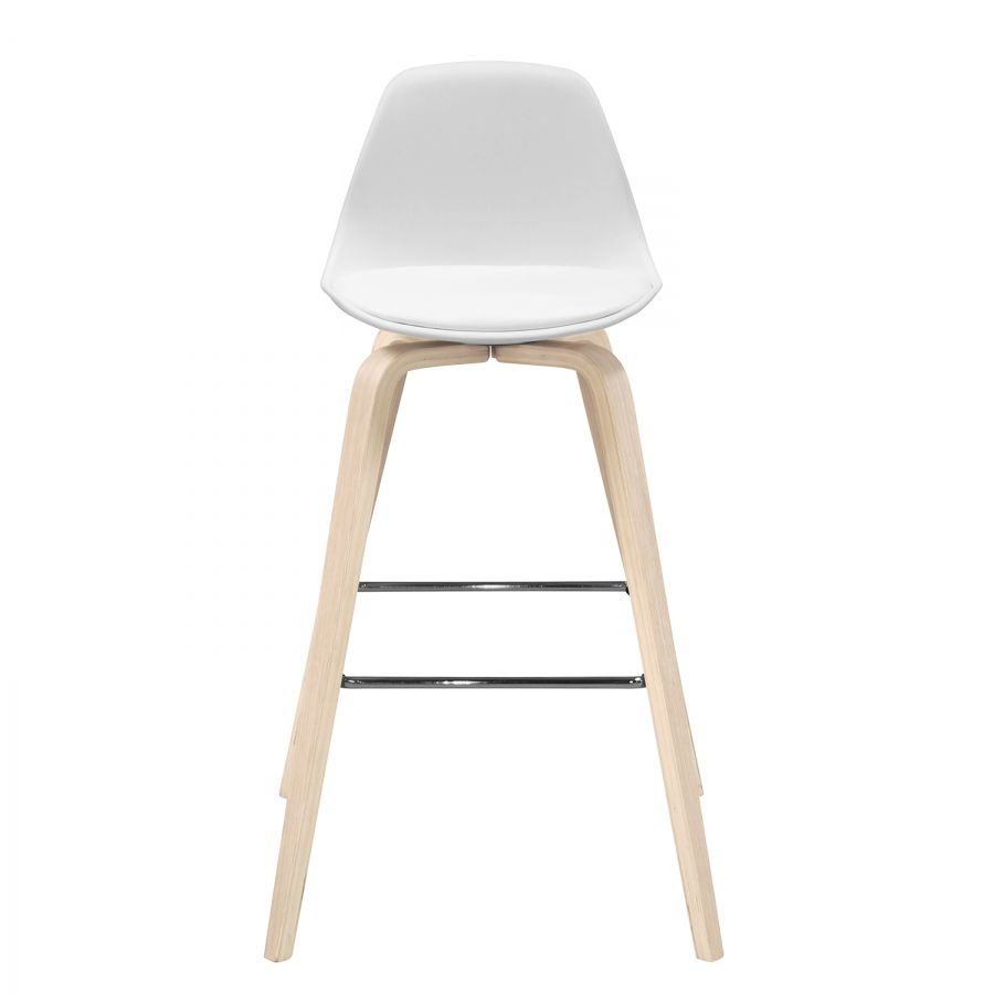 Chaises de bar vallvik i lot de 2 id es pour la maison chaise bar tabouret de bar blanc for Chaise bar blanc bois
