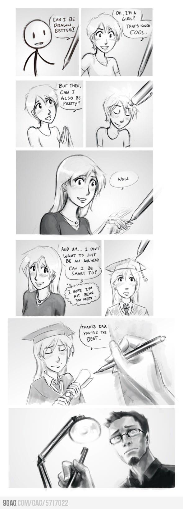 Story of stick girl artwork pinterest arte dibujos and cómics