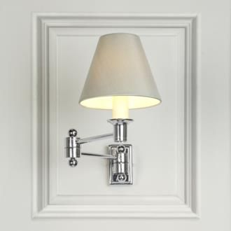 Hinged wall light in nickel made by jim lawrence master bedroom hinged wall light in nickel made by jim lawrence aloadofball Gallery