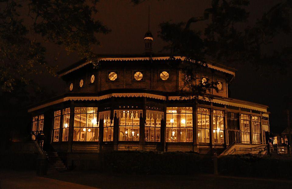 Garten Verein At Night Beautiful Wedding Venue