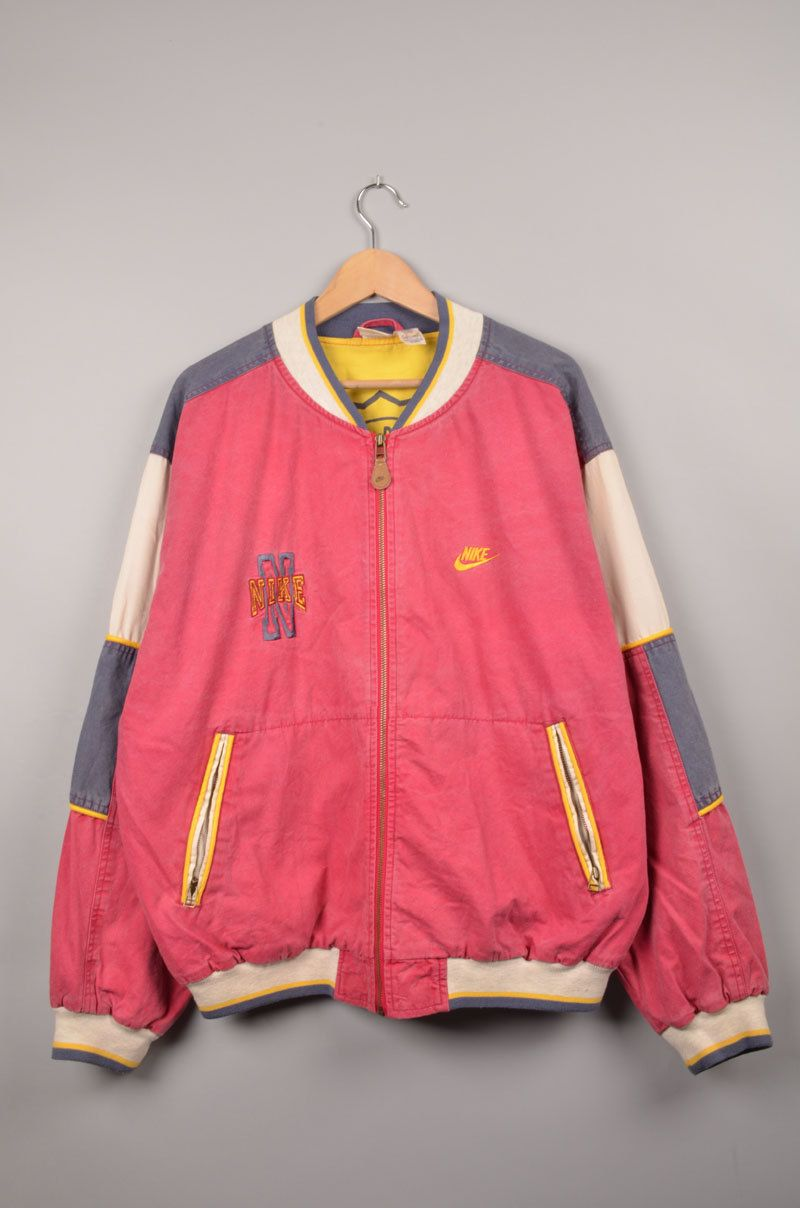 Nike jacket baseball - Nike Vintage Vintage Nike Baseball Jacket Training Jacket Nike Windbreaker