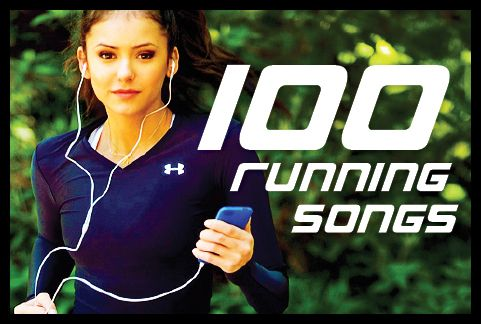 100 running songs.