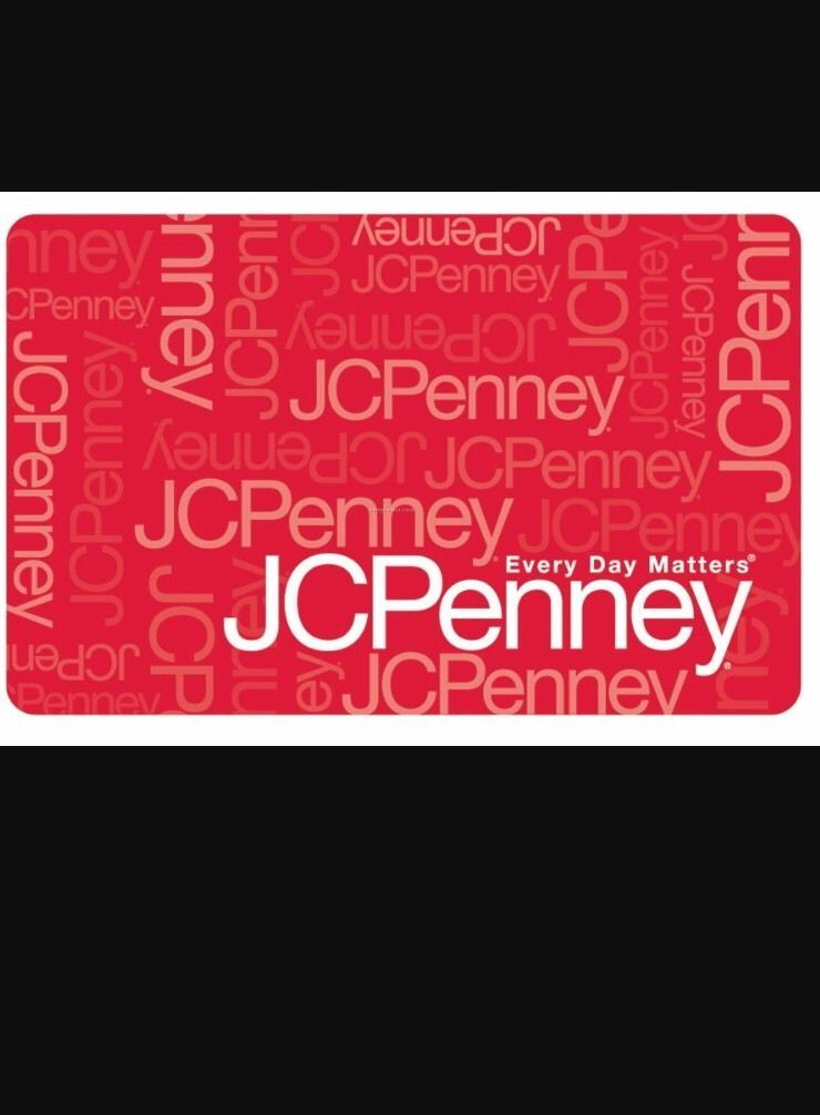 jcpenney gift card amount check