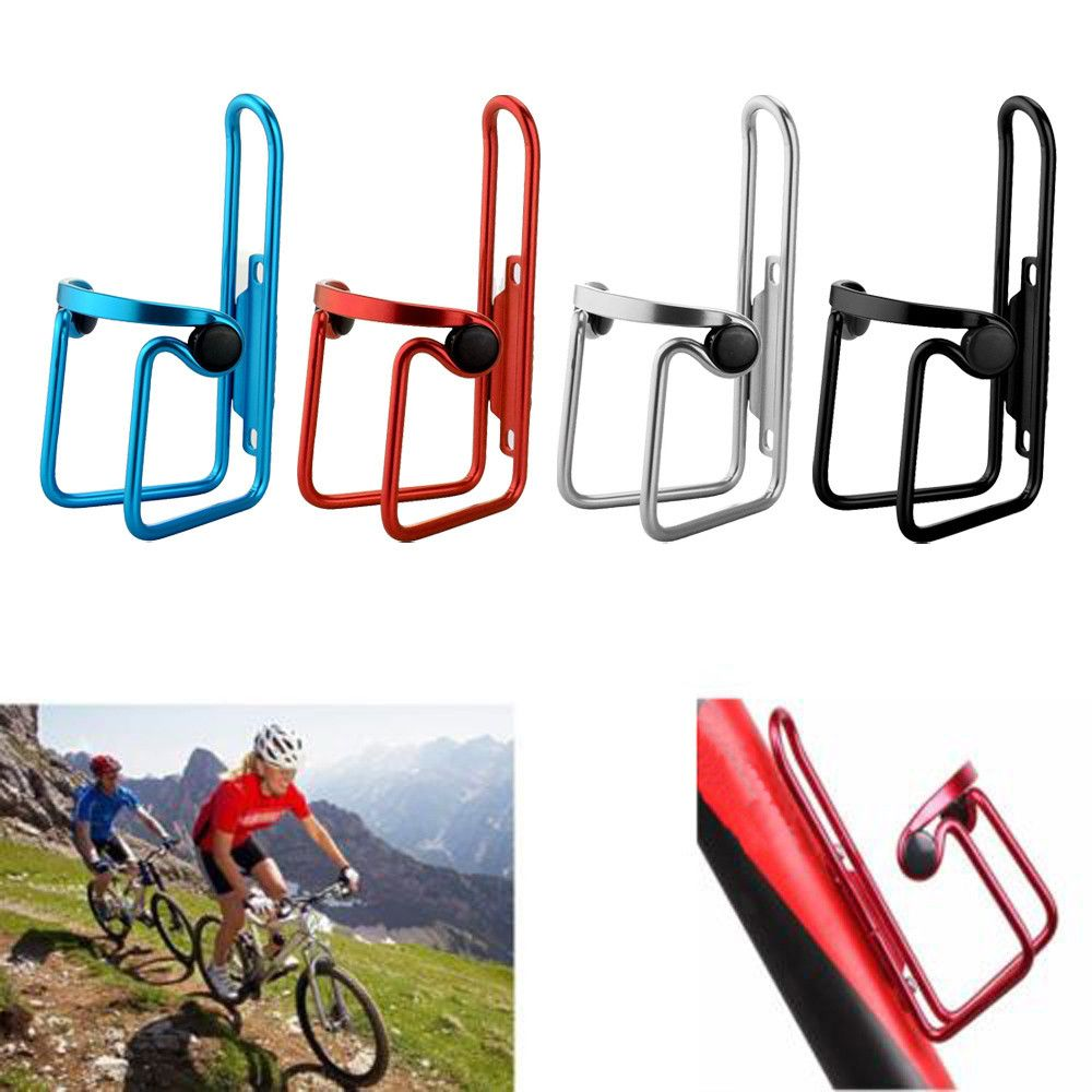 Aluminum Bike Bicycle Cycling MTB Water Bottle Cages Drink Rack Holder Brackets