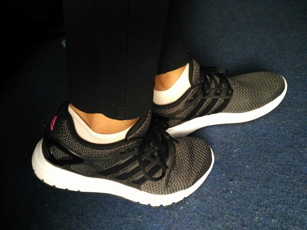 adidas cloudfoam ortholite black running shoes shoe