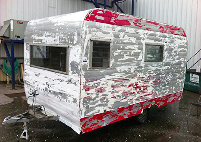 avant apr s une caravane transform e en petit cocon cosy nouveau propri taire caravane et. Black Bedroom Furniture Sets. Home Design Ideas