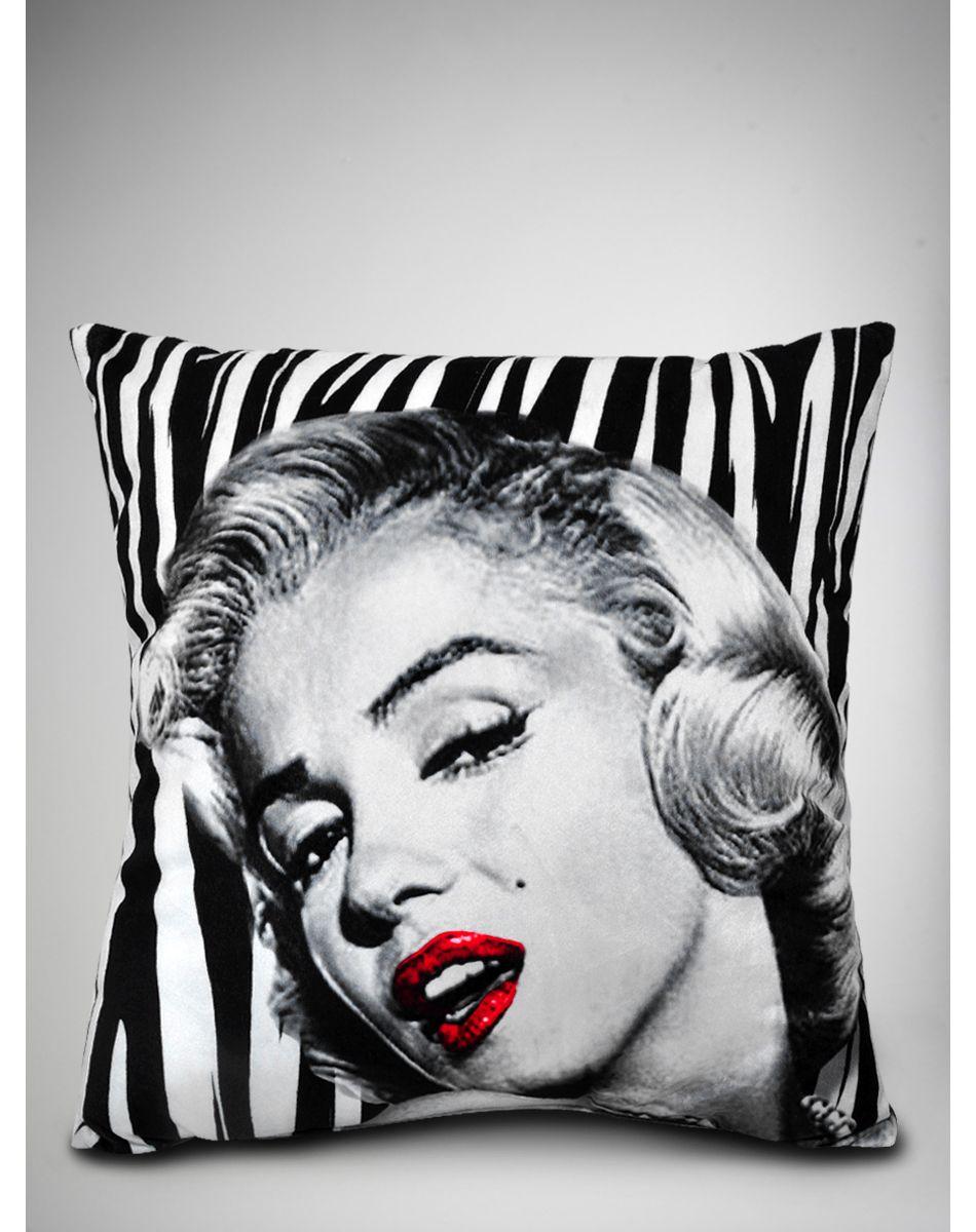 Marilyn Monroe Living Room Decorations: Marilyn Monroe Zebra Pillow. I WAAAAAAANT THIS