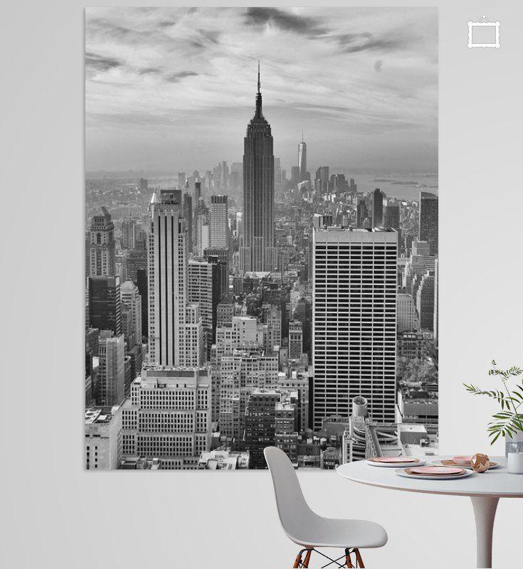 New Yorker Skyline von ÇaVa Fotografie auf Leinwand, Tapete und mehr