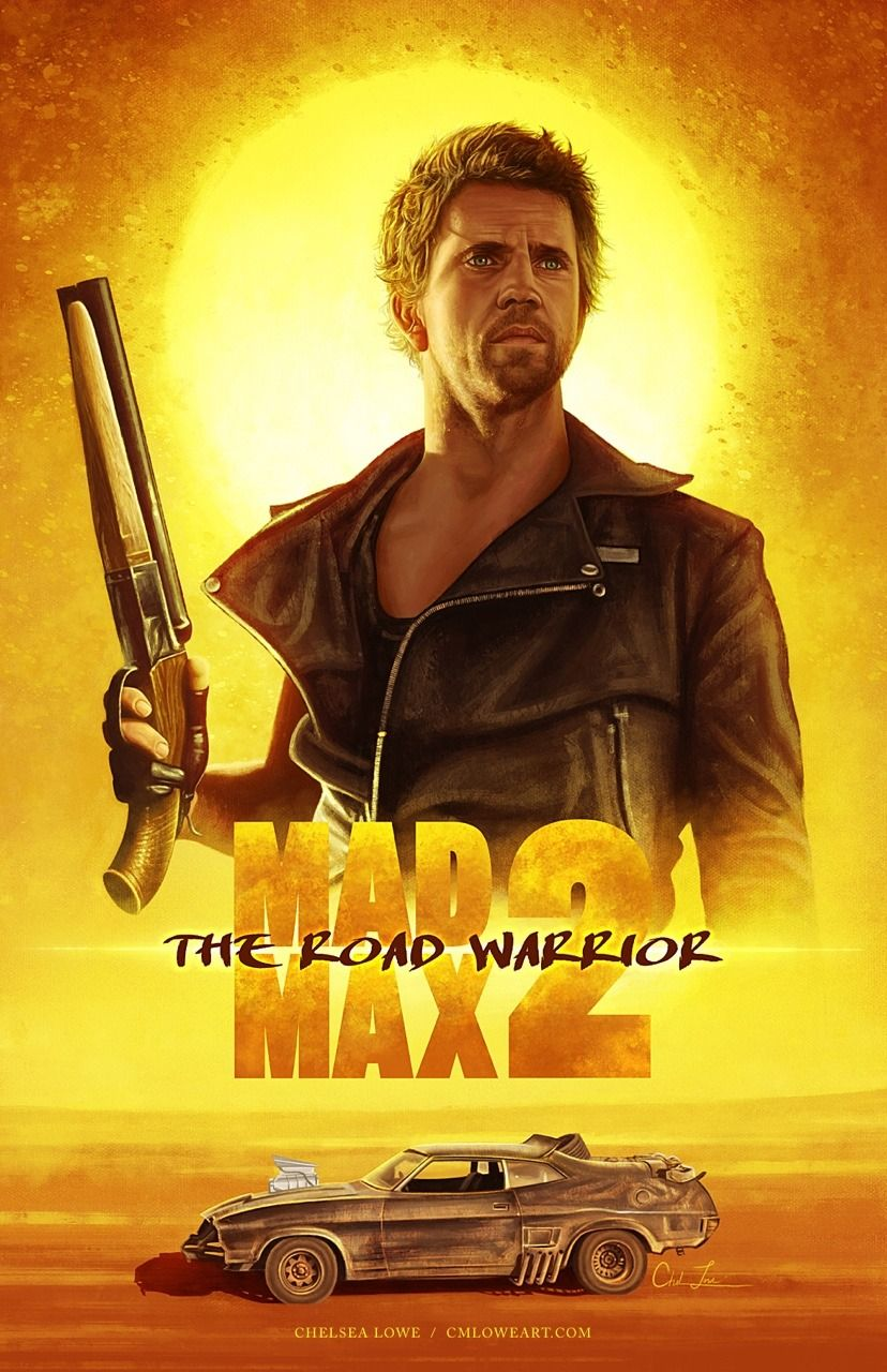 Mad Max Road Warrior Fan Art Poster Find On Tumbler