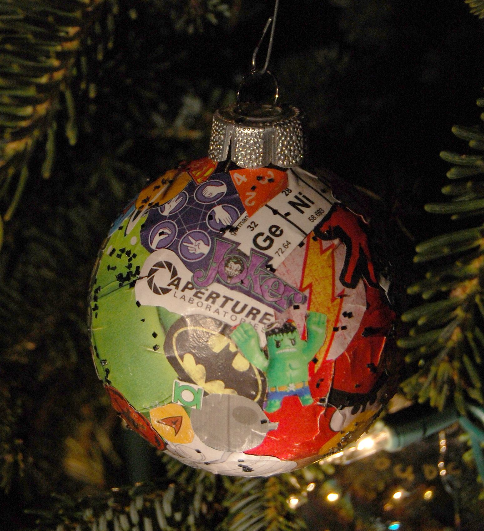 Geeky Christmas Ornament Craft