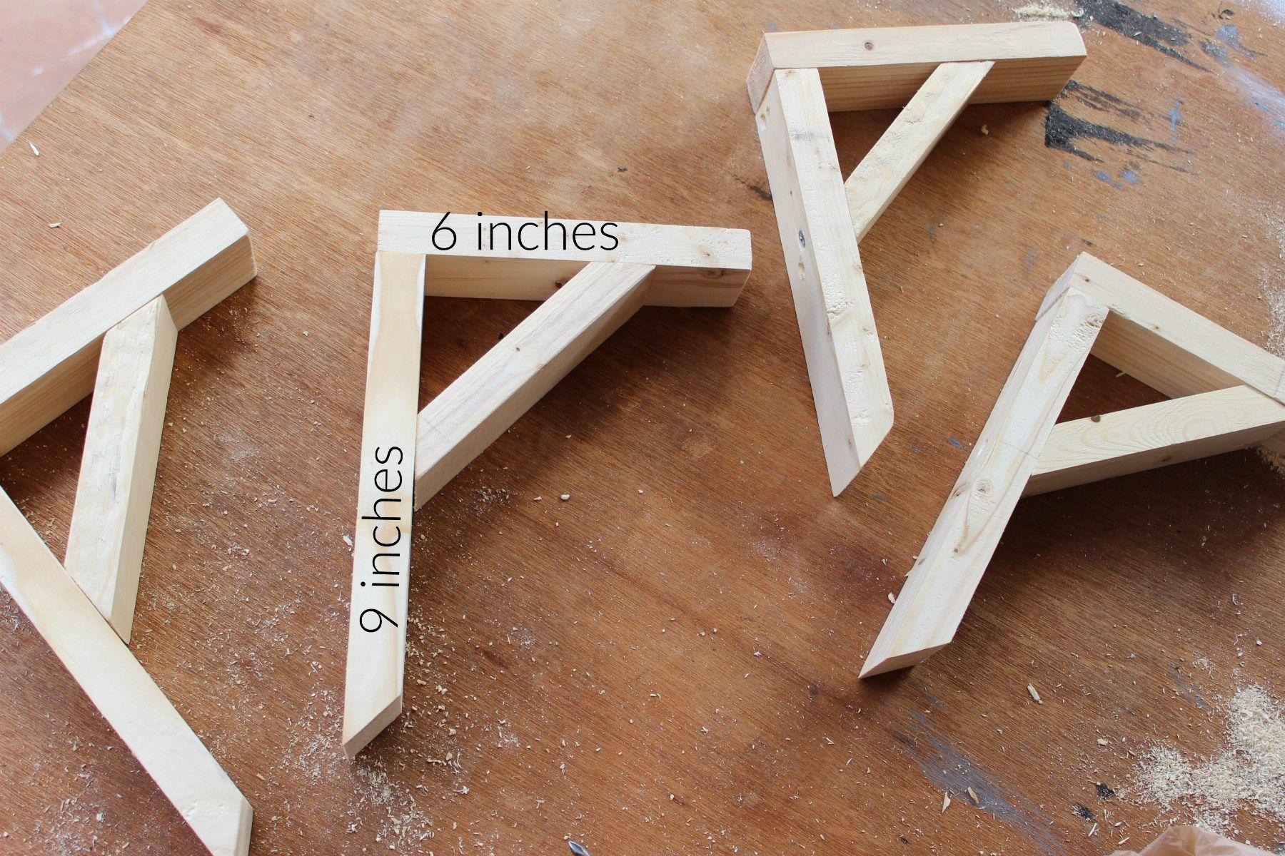 Pin By Kathy Ernst On Crafts Wood Shelf Brackets Diy Wood