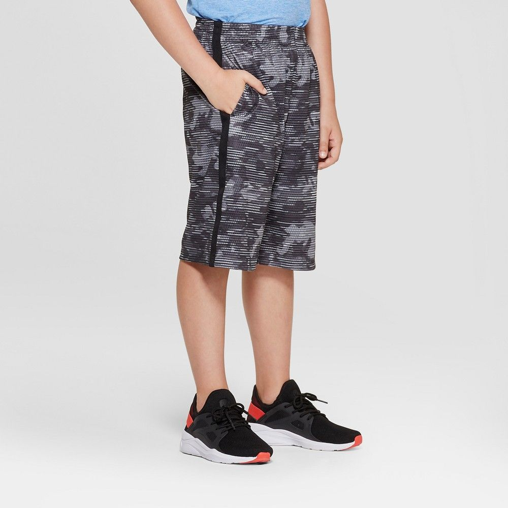 0c2cea9256e6 The Boys  Printed Mesh Short from C9 Champion is sure to be a favorite with  a variety of fun prints to choose from. Elastic draw string waist band and  side ...
