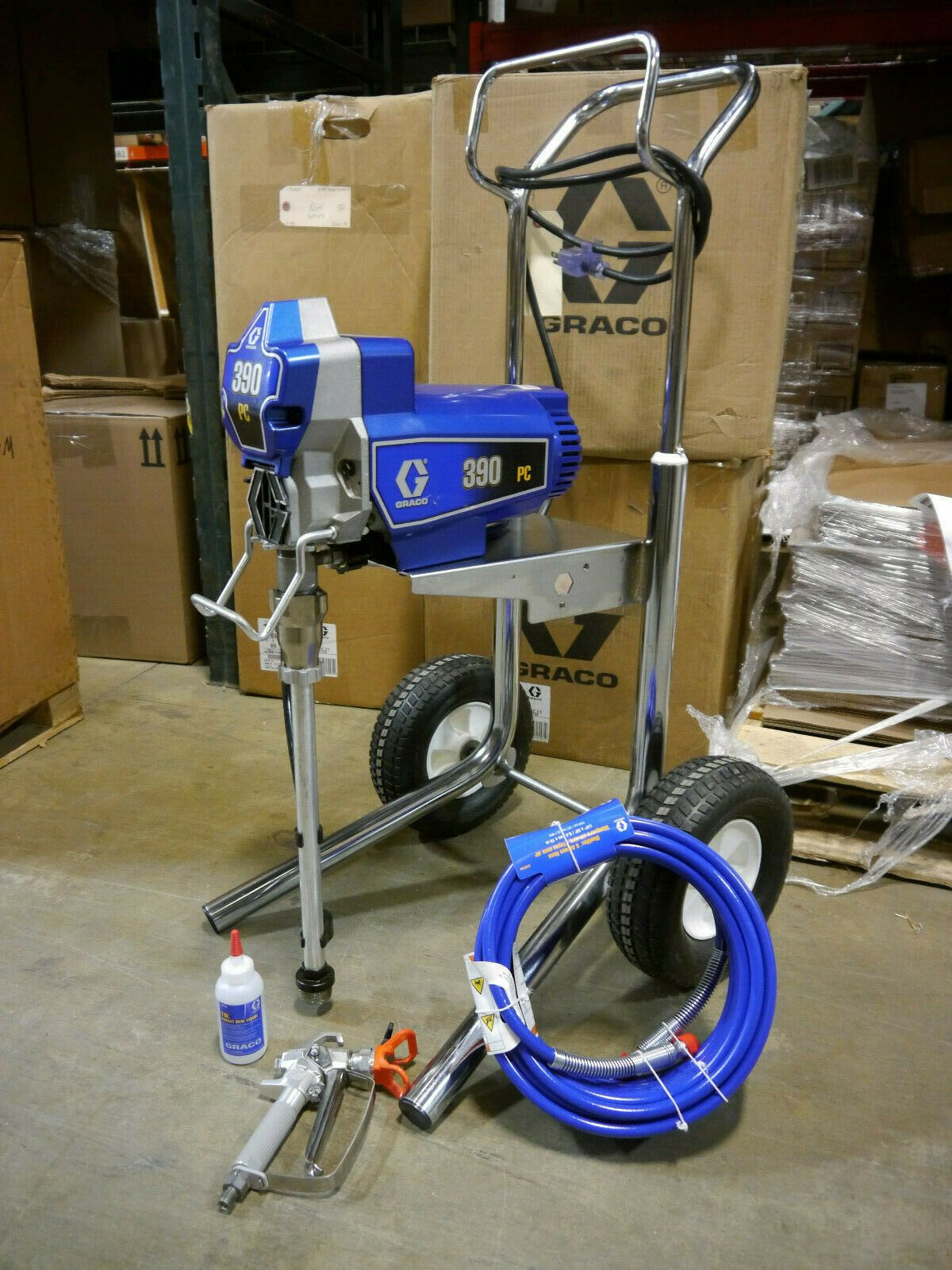 Graco 390 Pc Pro Connect Hiboy Electric Airless Sprayer 17c313 Ready To Ship 829 00 Graco Ideas Of Graco Graco In 2020 Graco Paint Sprayer Hvlp Paint Sprayer