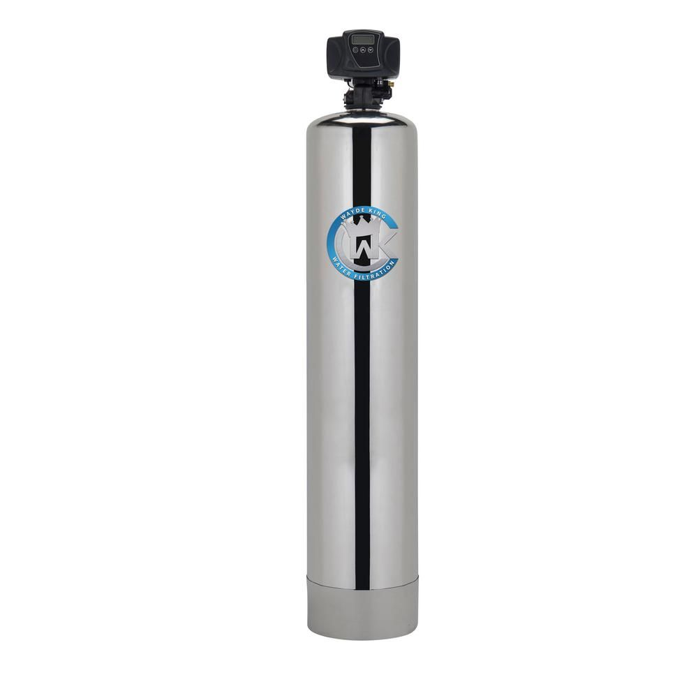Water Filtration System Oxygen Injection For Removal Of Iron And