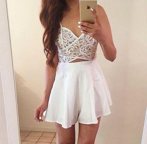 White lace dress tumblr