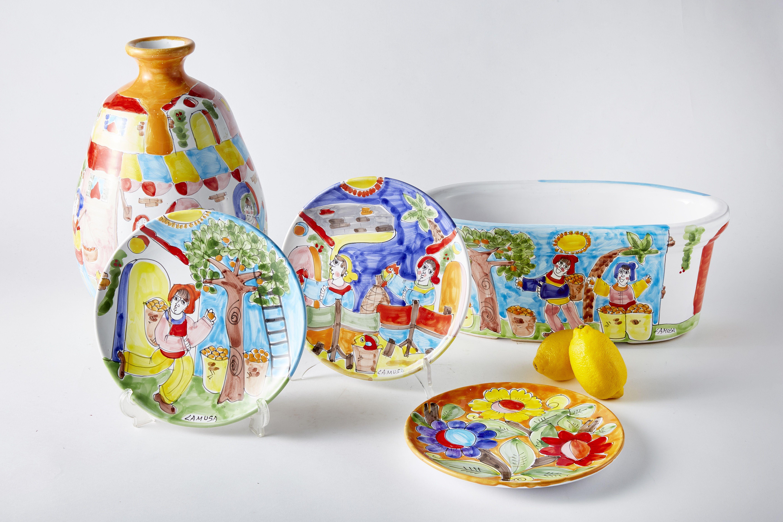 イタリアシチリア陶器その他アッシジ アマルフィ陶器取り扱い 陶器