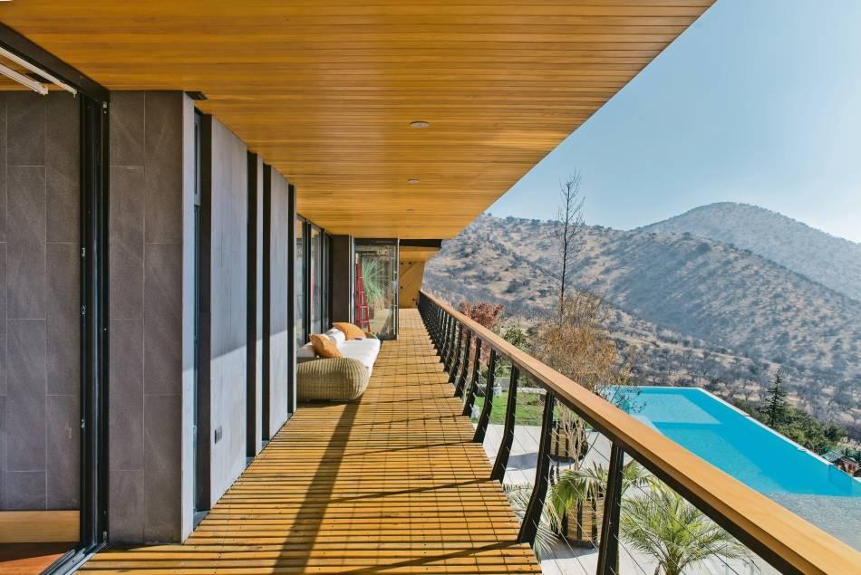 La Casa Chamisero En 2020 Arquitectura Decoracion Terraza Diseno De Terraza