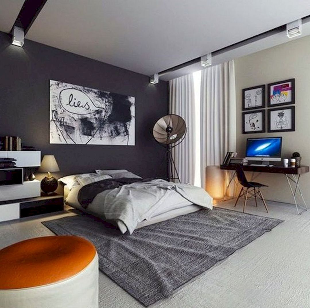 10 Masculine Men Bedroom Decoration Ideas That Look More Cool And