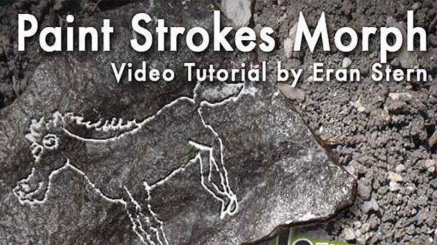 CreativeCOW presents Paint Stroke Morph -- Adobe After Effects Tutorial
