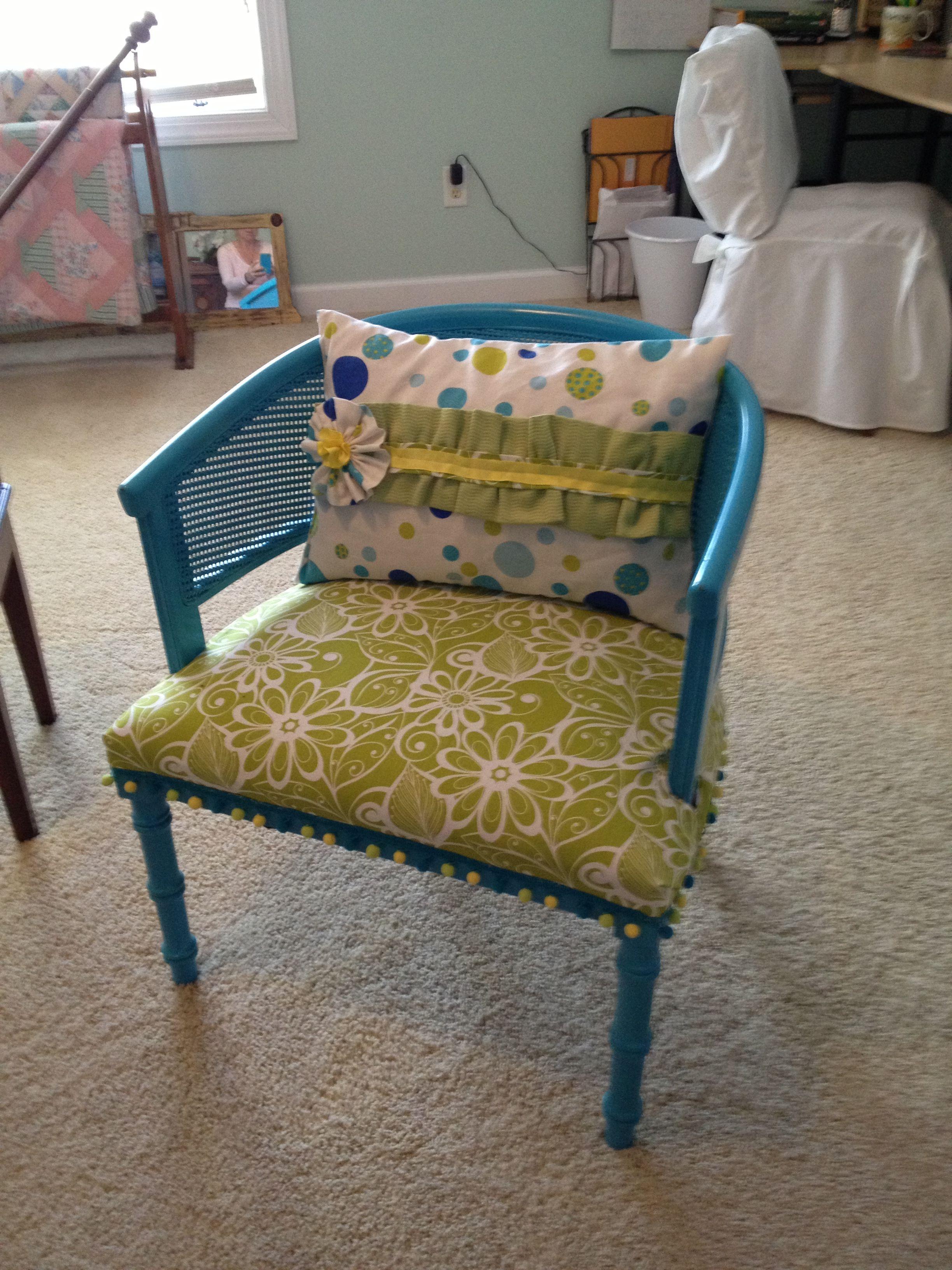 1070's ratan chair