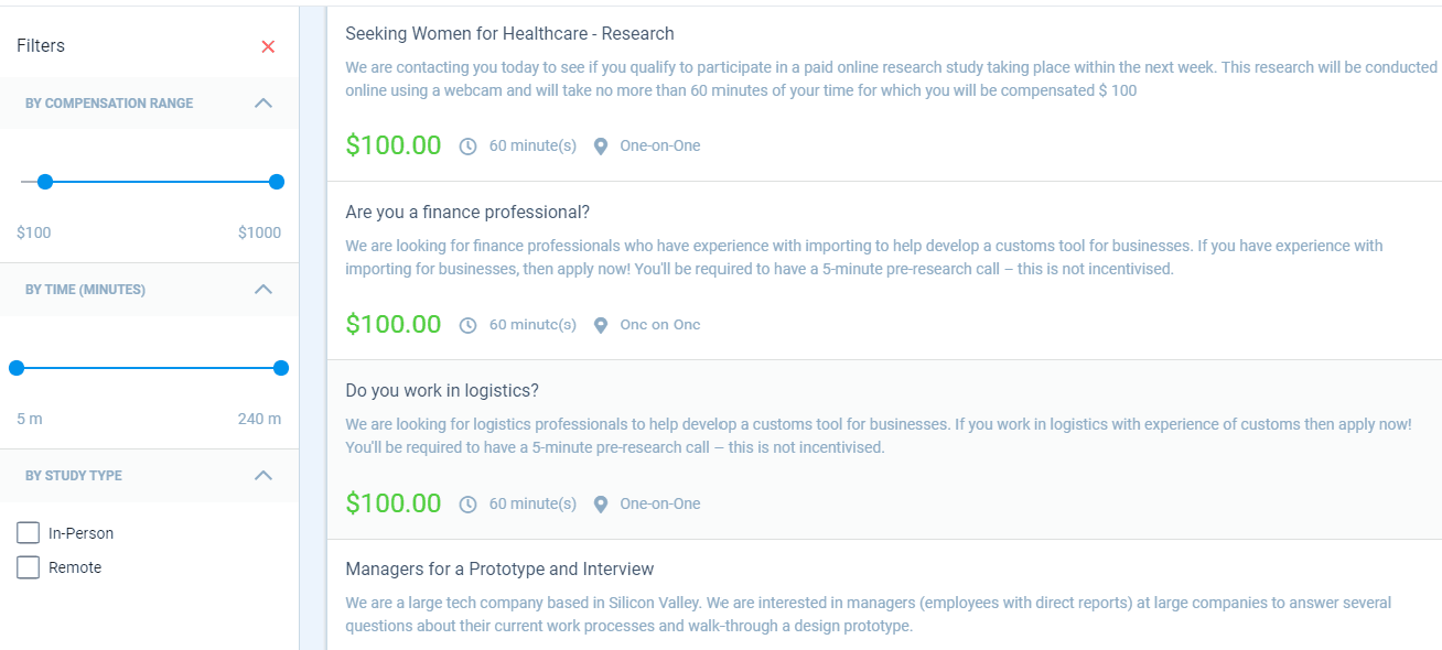 How to Become a Respondent - Paid Research Studies up to $300/each - One Fine Wallet