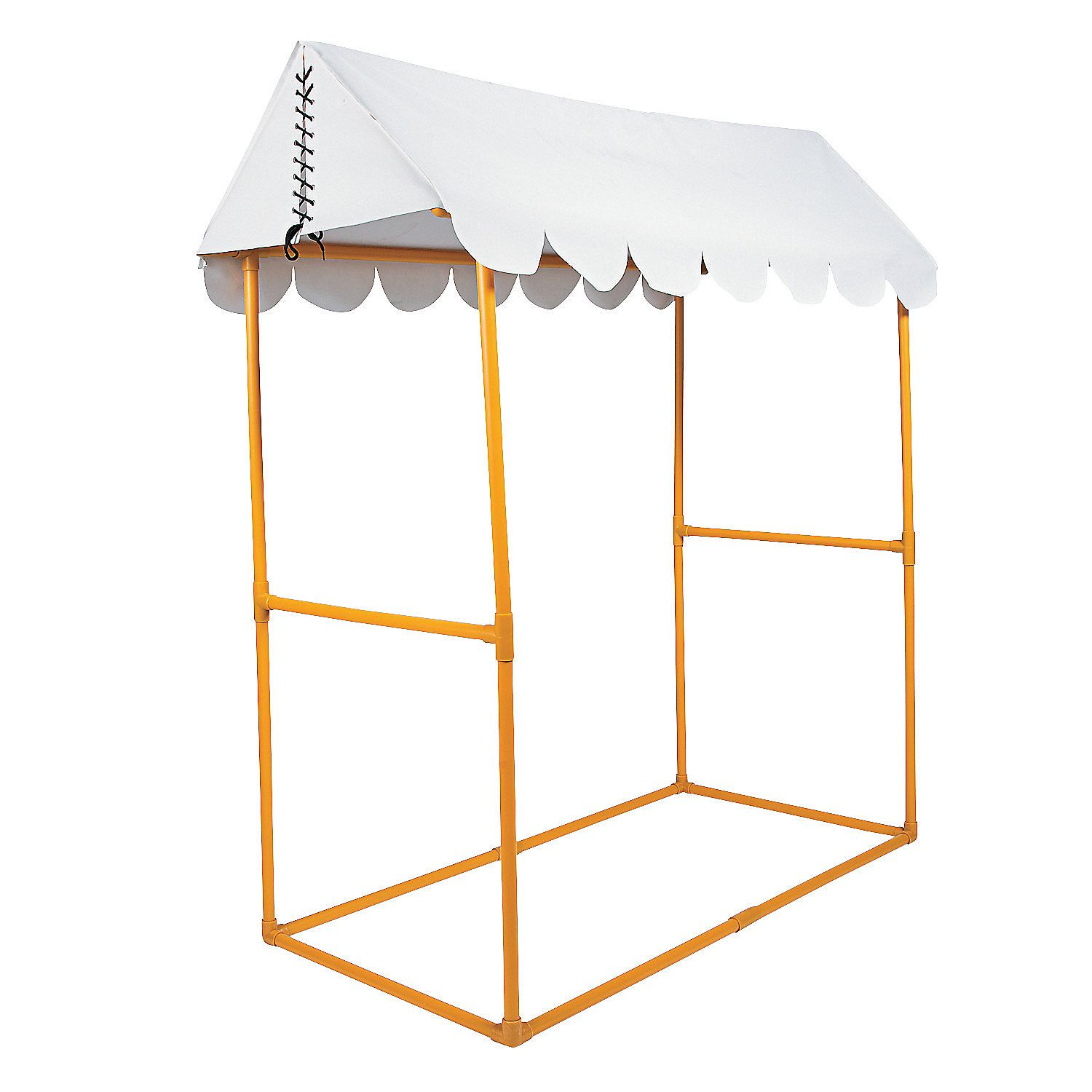 White Tabletop Tent Orientaltrading Com Spray Paint The