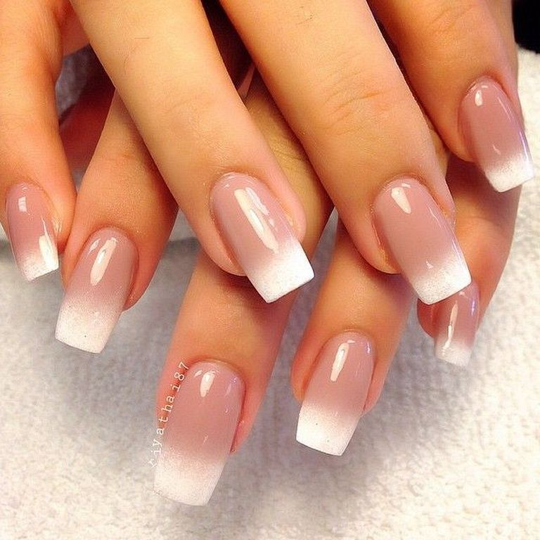 36 Ombre Nail Art Design Ideas With French Style   Fashion ...