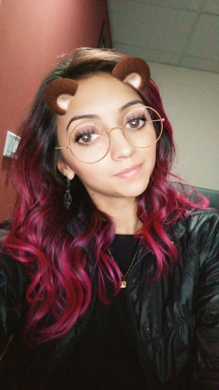Boto rosa da kamaleão colors hair pinterest purple hair