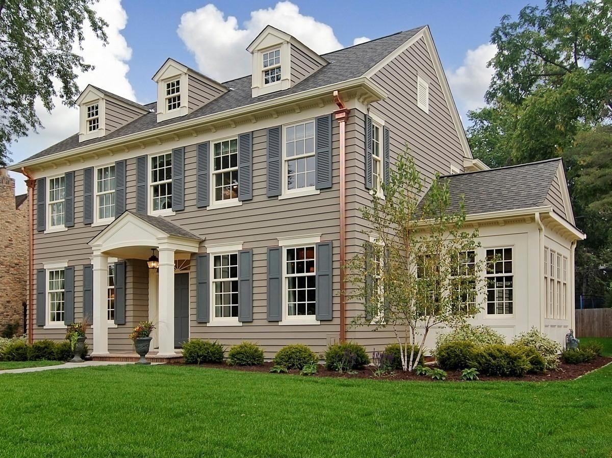 Architecture Design, Exciting Design Of Paint Exterior Brick With ...