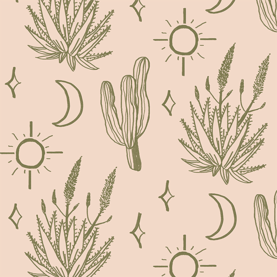 Desert Sky REMOVABLE Wallpaper - Peel & Stick Fabric Wallcovering! — SAMANTHA SANTANA