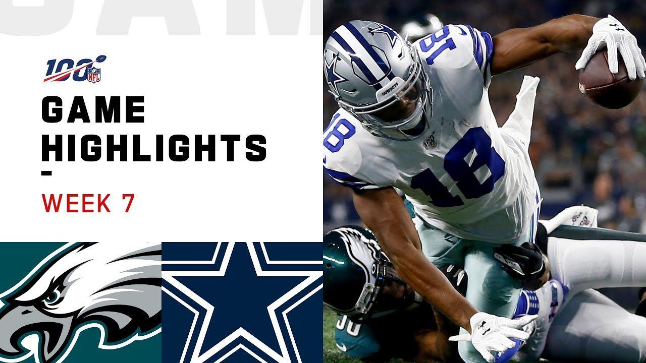 Eagles vs. Cowboys Week 7 Highlights NFL 2019 Eagles