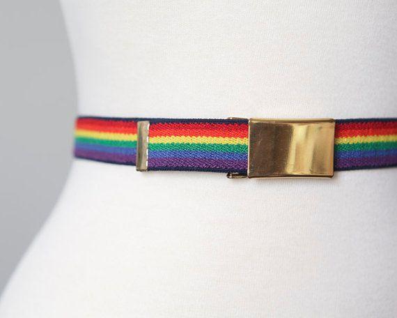 Background of Retro Self-Rainbow Childrens Fashion Adjustable Y-Type Suspension Belt Suit